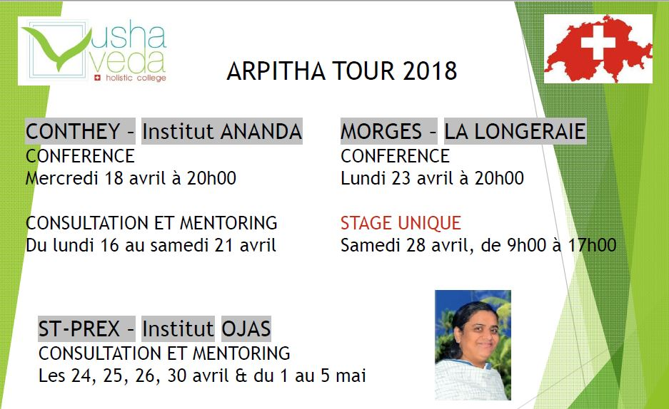 "Arpitha Tour - Stage unique ""The right answer"""